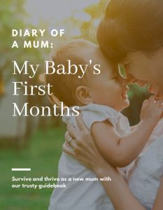 Diary of a Mum: My Baby's First Months