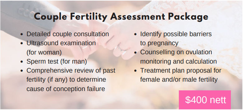 Couple Fertility Assessment Package
