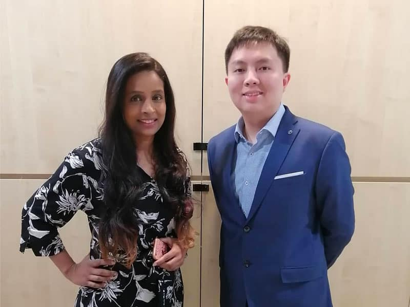 Dr Dharshini & Dr Dave Ong
