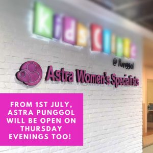 Astra Punggol New Opening Hours